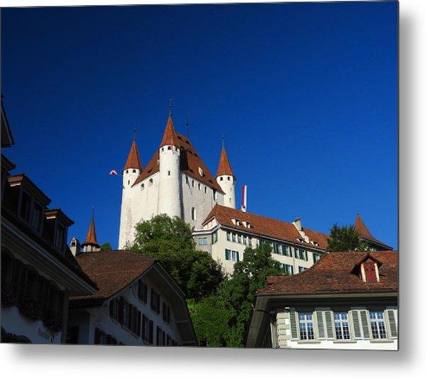 Thun Castle Metal Print