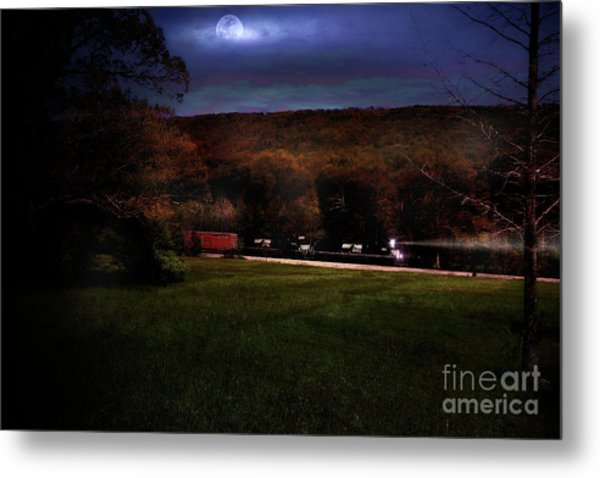 Thunder In The Valley Metal Print