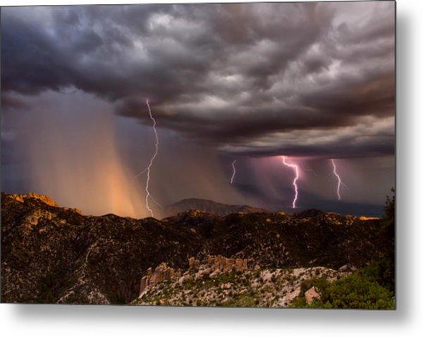 Thunder Mountain Metal Print