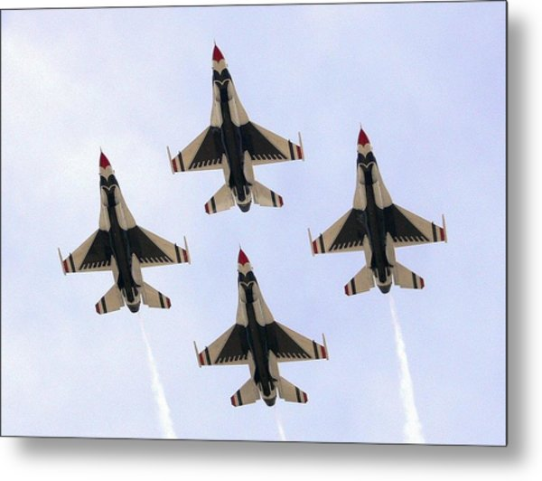 Thunderbirds Away Metal Print