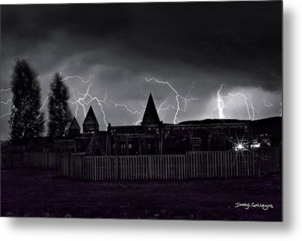 Thunderhead Metal Print by Darryl Gallegos