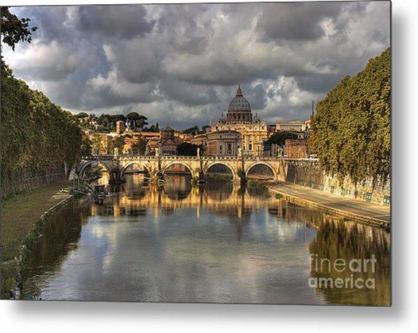 Tiber River Metal Print