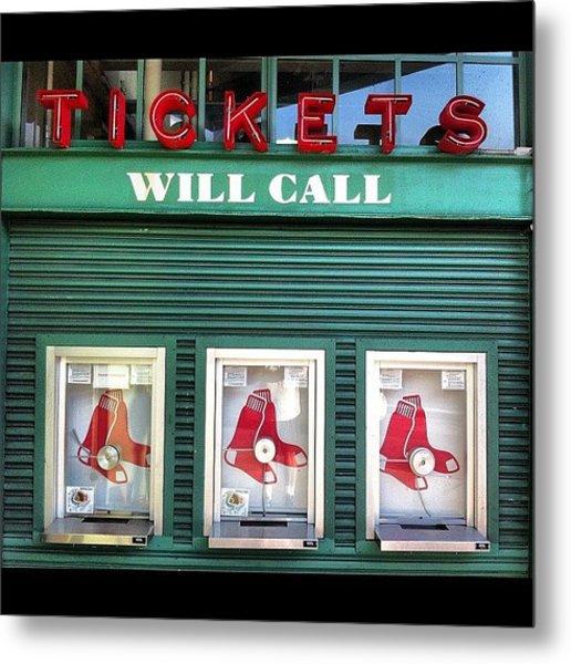Tickets Metal Print