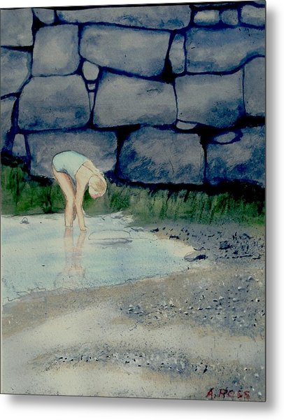 Tidal Pool Treasures Metal Print