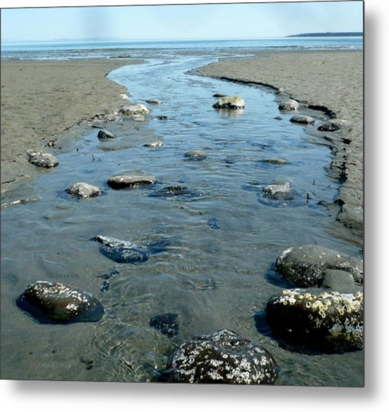 Metal Print featuring the photograph Tidal Pools by 'REA' Gallery