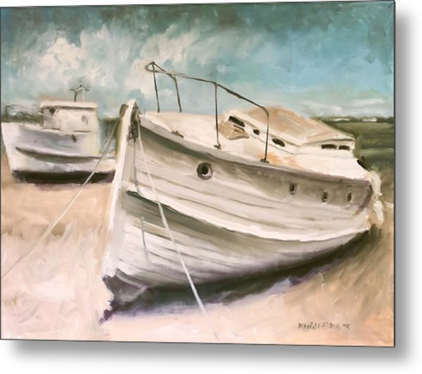 Tide Is Out Metal Print