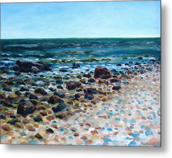 Tides Out Metal Print by Ralph Papa