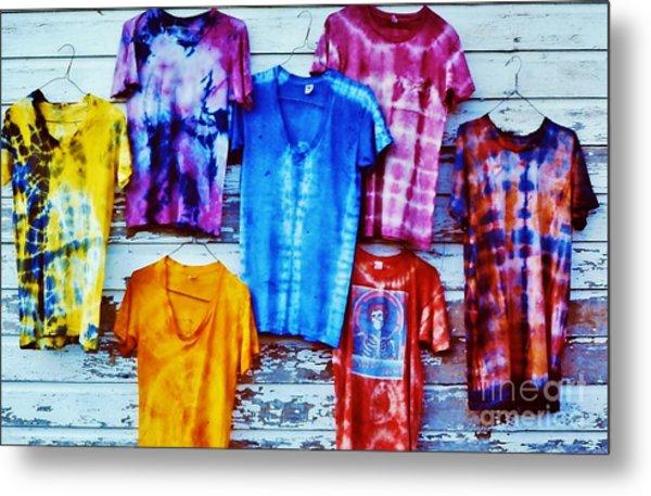 Grateful Dead Tie Dye Metal Print