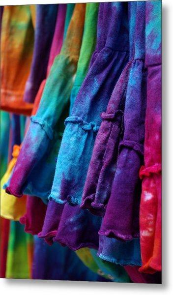 Tie Dyed  Metal Print