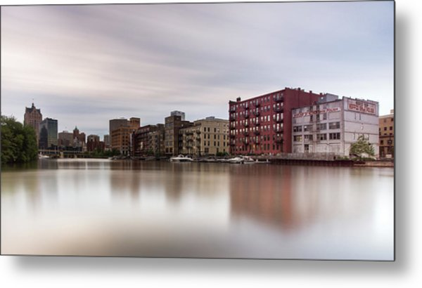 Time Along The Third Ward Metal Print