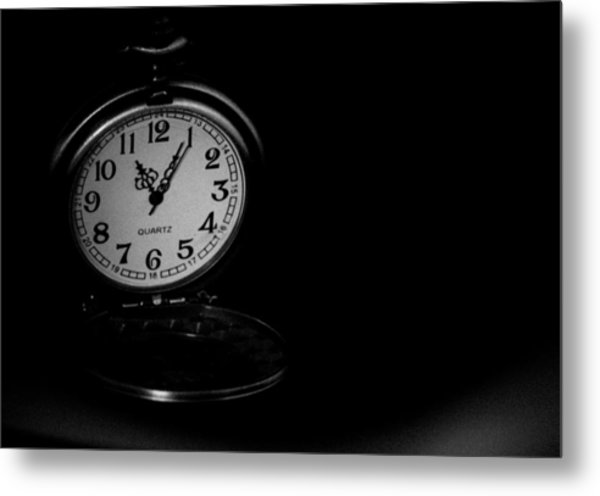 Time Metal Print by Angela Aird