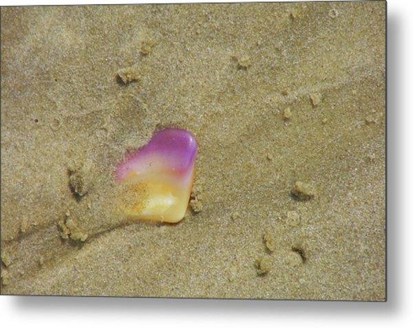 Time At The Beach Metal Print by JAMART Photography