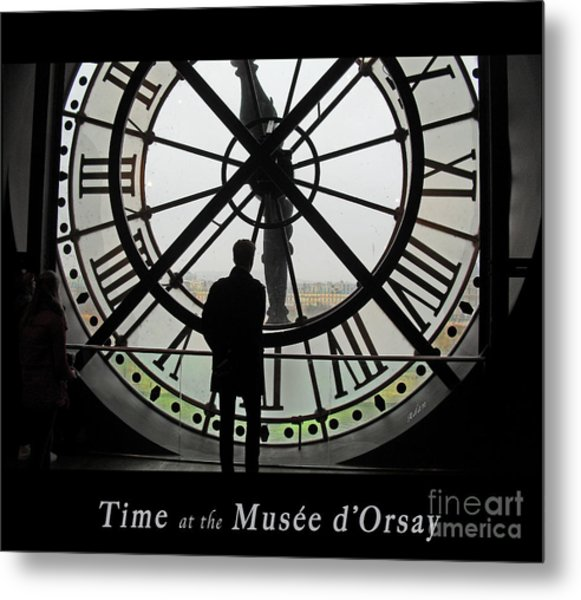 Time At The Musee D'orsay Metal Print