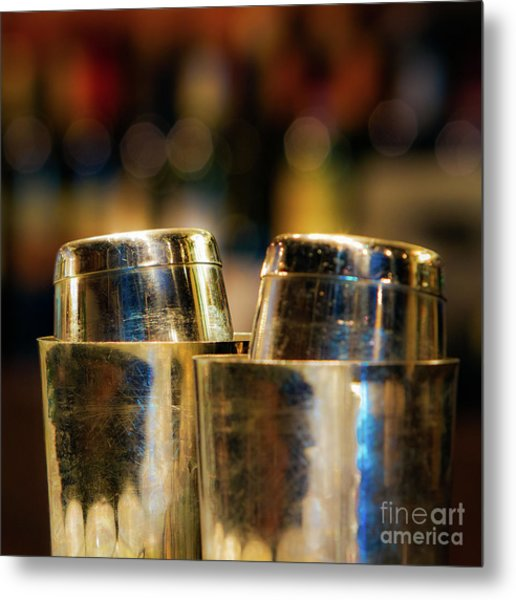 Time For A Cocktail Metal Print