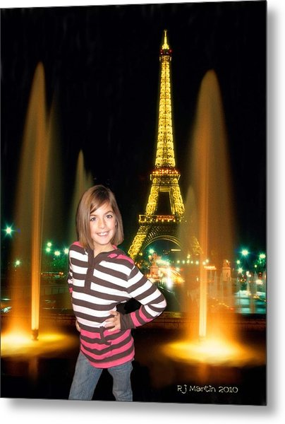 Time In Paris Metal Print