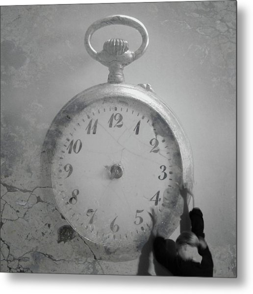 Time Is On My Side Metal Print