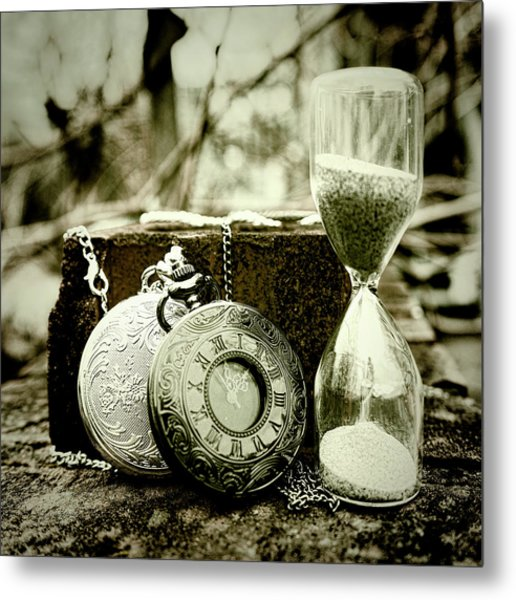 Time Tools Metal Print