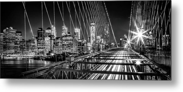 Time Warp City Metal Print