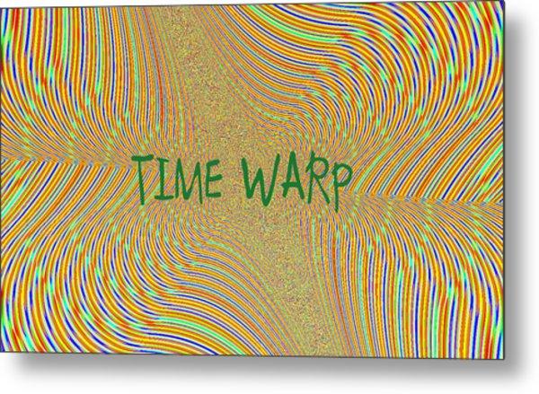 Time Warp Metal Print by Thomas Smith