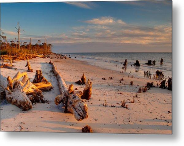 Timeless Florida Beach Metal Print by Rich Leighton