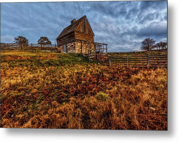 Timeless Rustic Barn  Metal Print