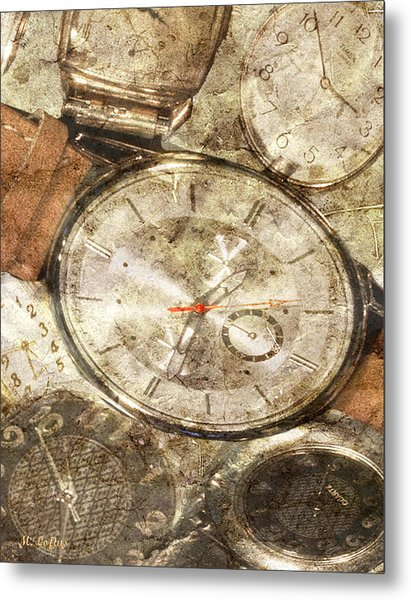 Timepieces Metal Print