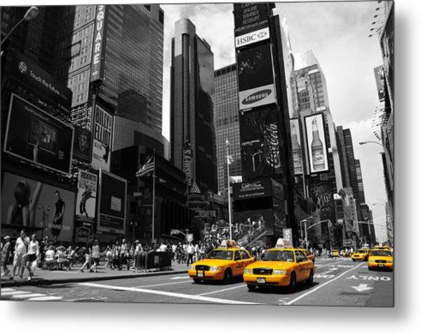 Times Square Metal Print by Mandy Wiltse