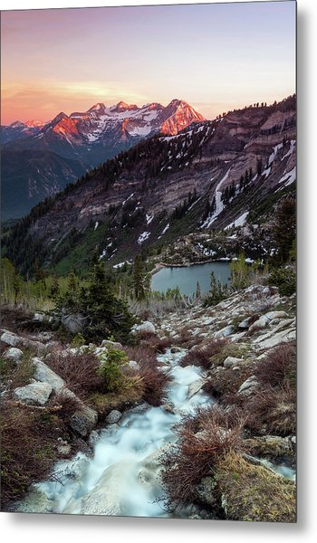 Timp From Silver Lake. Metal Print