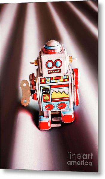 Tin Toys From 1980 Metal Print