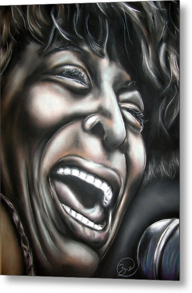 Tina Turner Metal Print by Zach Zwagil