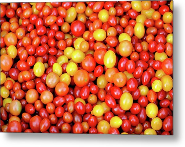 Tiny Tomatoes Metal Print