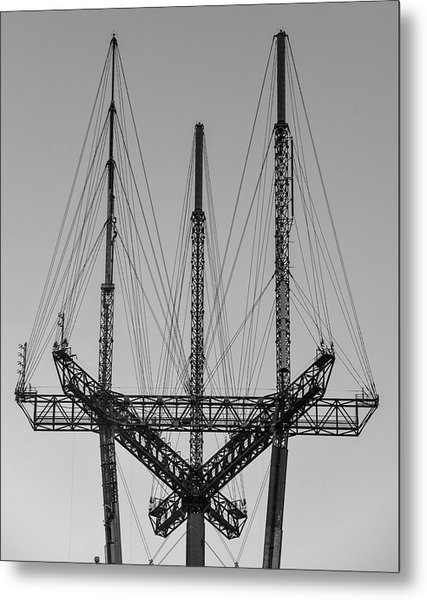 Tip Of The Sutro Metal Print