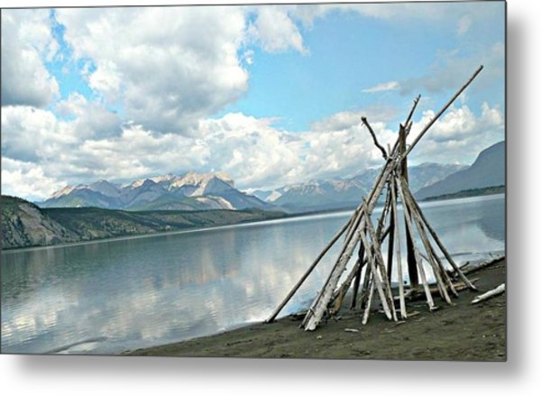 Tipi Like Metal Print