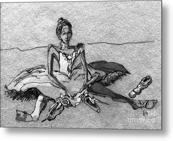 Tired Metal Print by Anthe Capitan-Valais