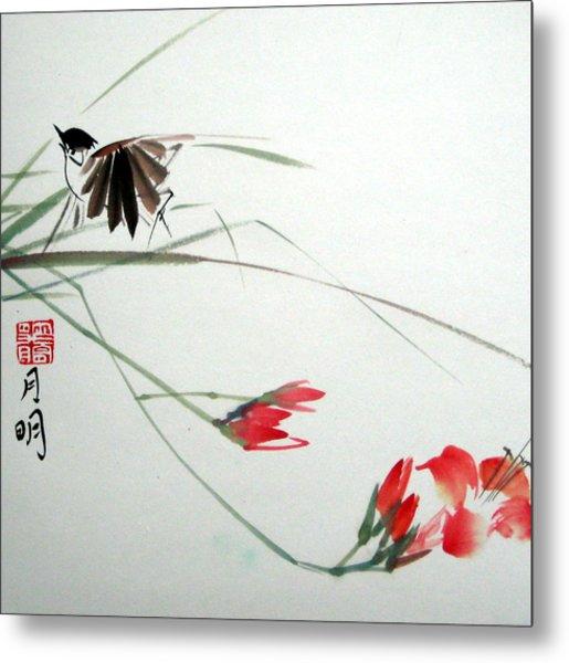 Tireless Flight Metal Print by Ming Yeung