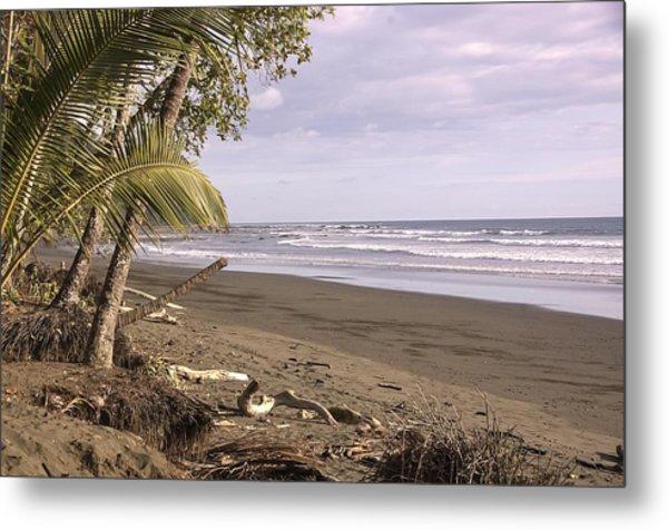 Tiskita Pacific Ocean Beach Metal Print