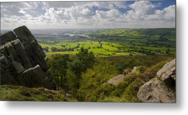 Tittesworth From The Roaches Metal Print