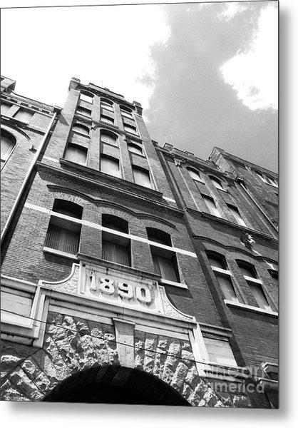 Tn Brewery Memphis 1890 Metal Print