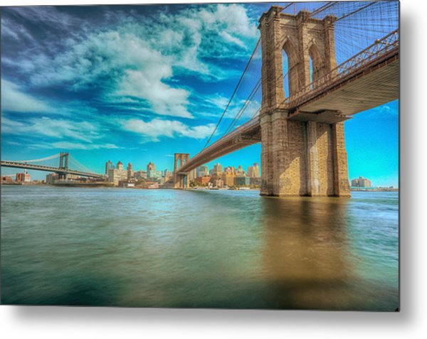 To Brooklyn And Back Metal Print