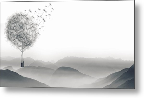 To Fly Only For A Moment Metal Print