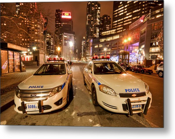 To Serve And Protect Metal Print