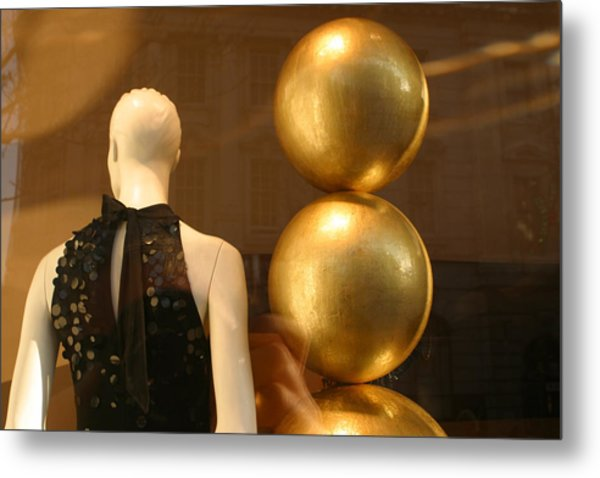 To The Ball Metal Print by Jez C Self