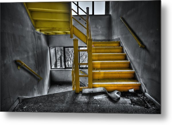 To The Higher Ground Metal Print
