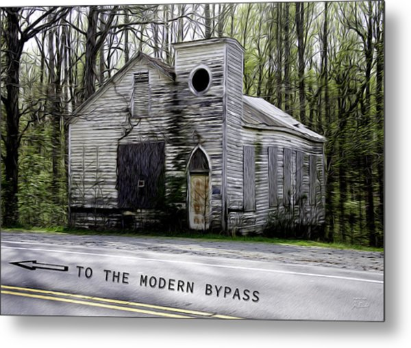 To The Modern Bypass Metal Print