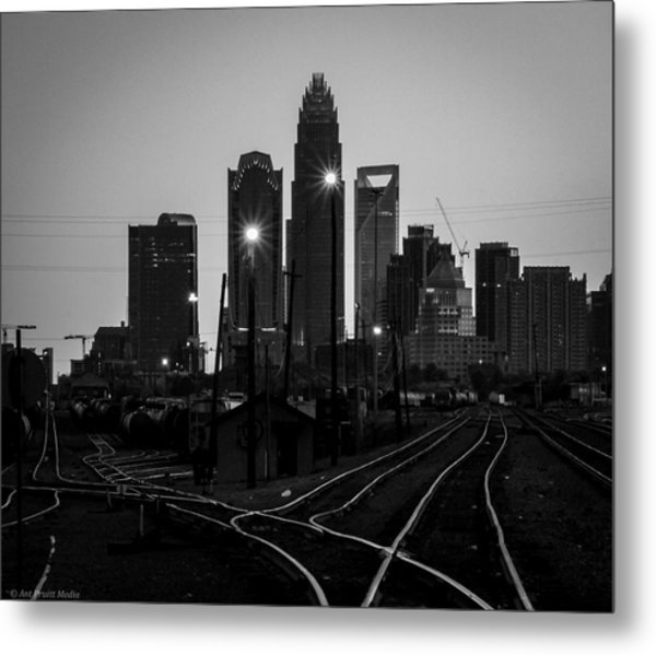 To The Queen City Metal Print