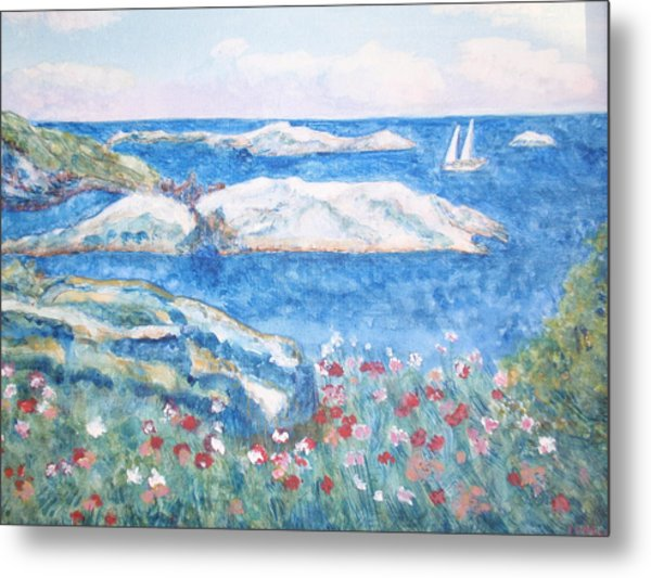 To The Shoals Metal Print by Ursula Wright
