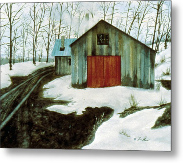 To The Sugar House Metal Print