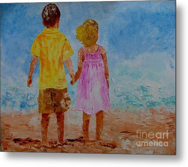 Together Metal Print by Inna Montano