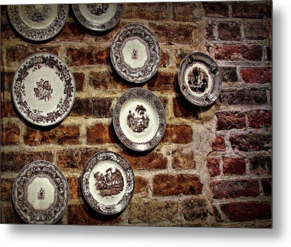 Tiole Plates Metal Print by JAMART Photography