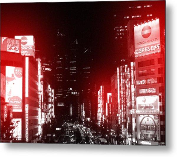 Tokyo Street Metal Print